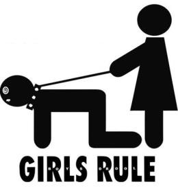 Girs Rule BoysDrool